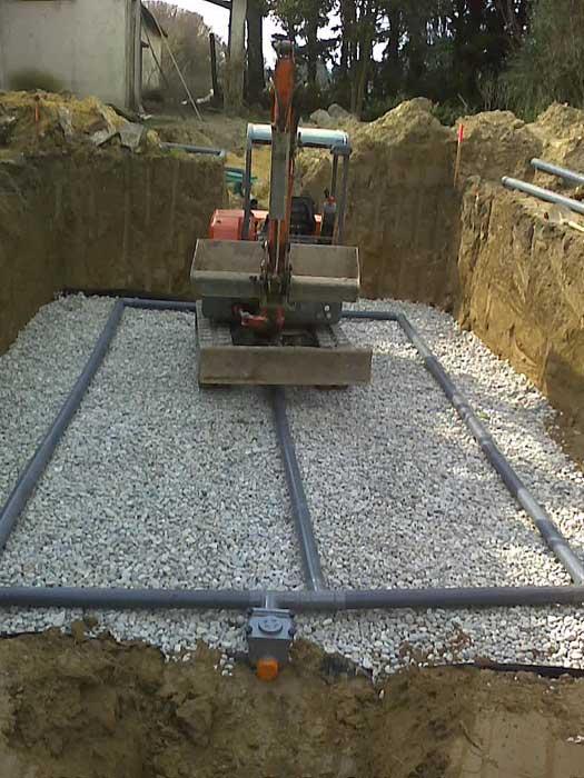 Installation fosses septiques assainissements piolenc orange - Norme fosse septique ...